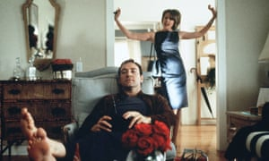 Kevin Spacey and Annette Bening in American Beauty