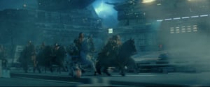Cavalry. Screengrabs from Star Wars Rise of Skywalker final trailer