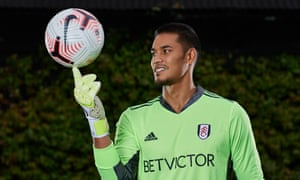 Alphonse Areola has said Scott Parker convinced him to join Fulham.