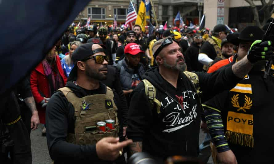 After Proud Boys chairman Enrique Tarrio was arrested on 4 January, a fundraiser billed as a 'defense fund' made $113,000 in just four days.