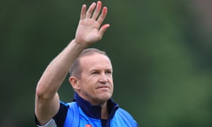 Andy Flower is departing his role with the England and Wales Cricket Board.