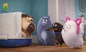Reigning cats and dogs (and budgie) … The Secret Life of Pets 2.