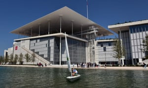 The Stavros Niarchos Foundation Culture Centre, Athens, by Renzo Piano