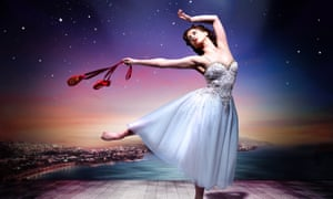 Publicity shot for Sir Matthew Bourne's production of The Red Shoes, starring Ashley Shaw