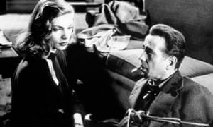 Lauren Bacall and Humphrey Bogart in The Big Sleep.