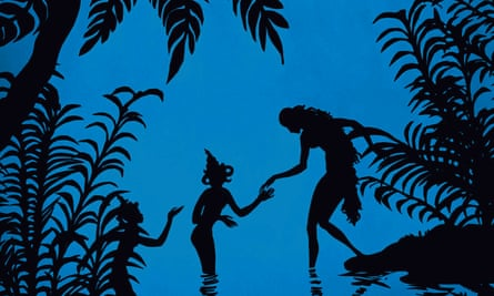 The Adventures of Prince Achmed, Lotte Reiniger's 1926 film.