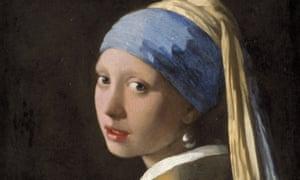 Johannes Vermeer's Girl with a Pearl Earring, circa 1665.