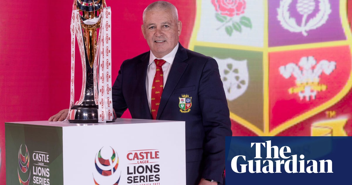 Warren Gatland primes his Lions squad to go on attack in South Africa