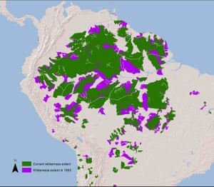 A third of the Amazon region has been lost since 1992.
