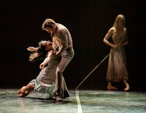 Tamara Rojo and James Streeter in Akram Khan's Giselle.