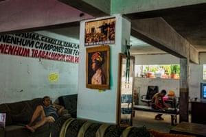 A squat in Vito Giannotti in the Santo Cristo area