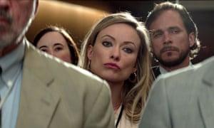 Vampish … Olivia Wilde as journalist Kathy Scruggs in Richard Jewell.