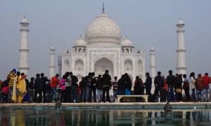 indians visiting taj mahal could be capped at 40 000 a day world
