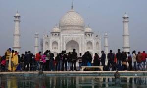 Mughal rubbish … the Taj Mahal in Agra.