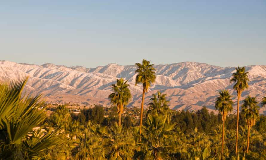 Palm Springs, California. Once best known as a desert hangout for Hollywood's 1960s rat pack, it is now arguably the gayest town in the US