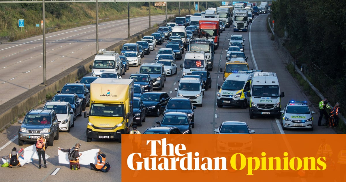 We have to insulate Britain, but M25 protests don't make the case for it