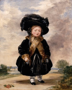 Queen Victoria, aged four (oil on panel), by Stephan Poyntz Denning (1795-1864)