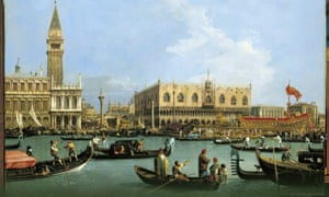 Canaletto - The Bacino di S. Marco on Ascension Day, c.1733–4