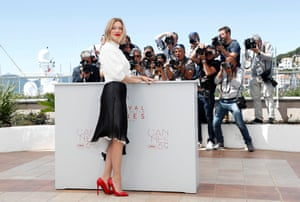 Lea Seydoux poses during a photocall for the film Juste la fin du monde (It's Only the End of the World)