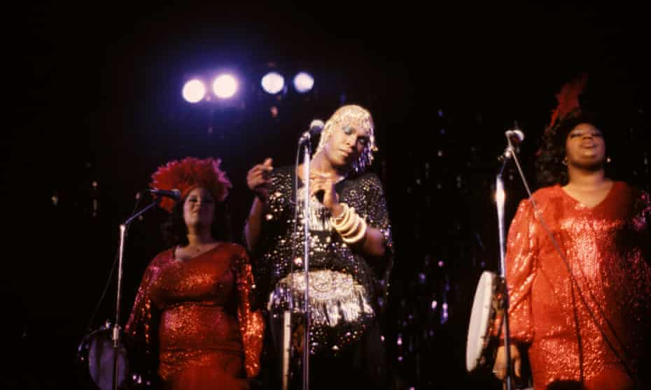 Sylvester on stage in London in 1979.