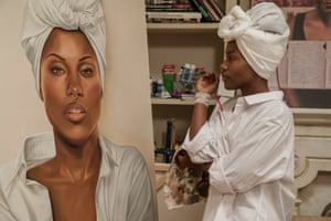 DeWanda Wise in Spike Lee's Netflix series She's Gotta Have It, based on his 1986 film of the same name.
