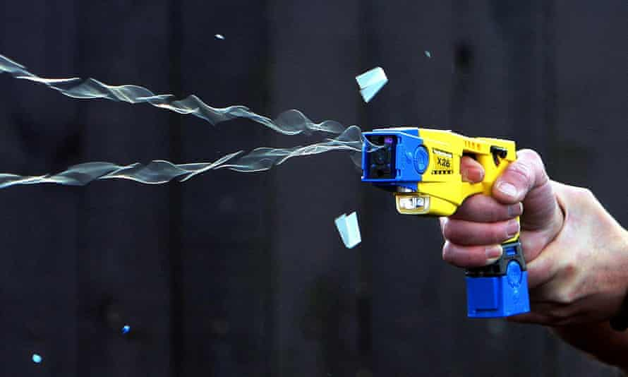 Tasers were drawn, aimed or fired by police 38,135 times between 2010 and 2015, a BBC FoI request revealed.