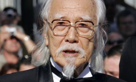 Seijun Suzuki at Cannes in 2005.