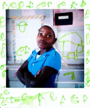 Alizia, from the Democratic Republic of the Congo