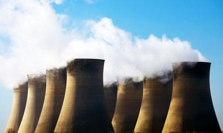 Cottam power station in Trent Valley, Nottinghamshire