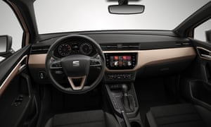 Inside story: the clean and simple interior of the Ibiza. Plenty of connectivity is on offer