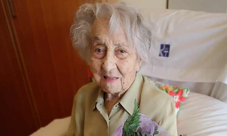 Maria Branyas survived the 1918 flu pandemic and two world wars.