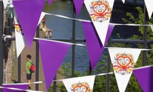 The bunting is on sale for £40.
