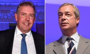 Nigel Farage had openly campaigned for Kim Darroch's job in 2016.