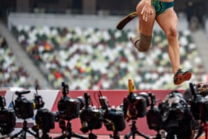 Australia's Sarah Walsh competes in the women's long jump