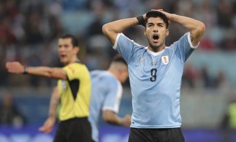 Uruguay made to wait despite VAR-fuelled Copa América fightback against Japan
