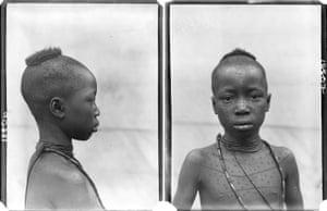 'Nwoku', photographed by N. W. Thomas in Mgbakwu, Anambra State, Nigeria, 1911