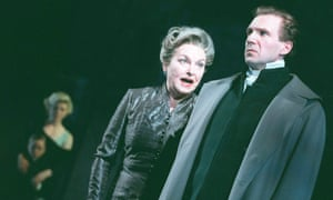 'She really shook the air as she spoke' … Barbara Jefford with Ralph Fiennes in Coriolanus in 2000.