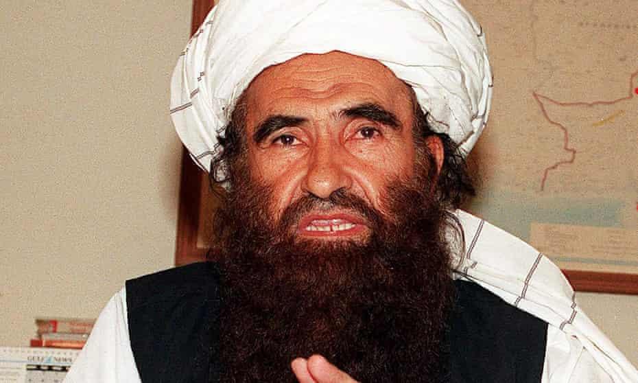 Jalaluddin Haqqani in 2001