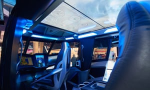 Interior image of the Nexus at the Consumer Electronics Show in Las Vegas
