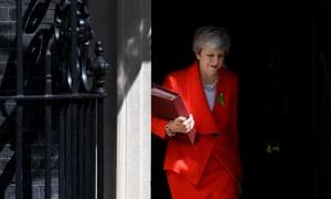 Theresa May leaves No 10