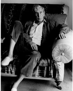 Sir Michael Tippett by Jane Bown, 1994.