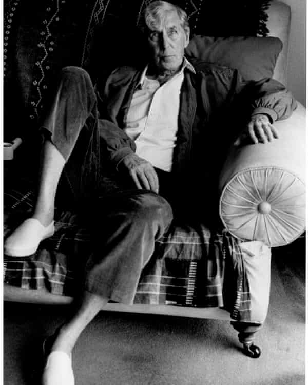 Sir Michael Tippett photographed by Jane Bown in 1994