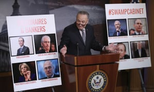 Charles Schumer speaks during a news conference on Capitol Hill in Washington Thursday.