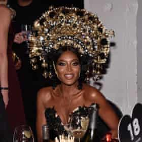 Naomi Campbell at Halloween party in New York, 2017