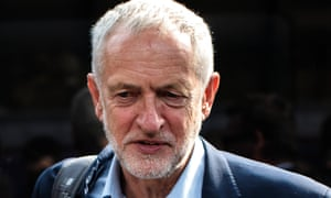 Current Labour leader Jeremy Corbyn