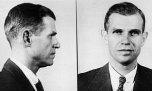 police photographs of Alger Hiss in (1949.