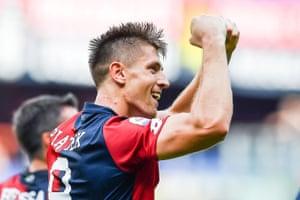 Krzysztof Piatek is off to a storming start with Genoa.