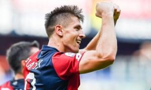 Krzysztof Piatek has six goals in five league games, plus four in the Coppa Italia.