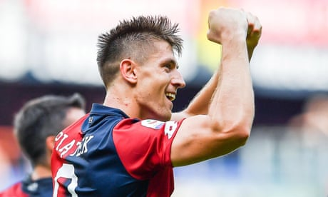 Milan reach agreement to sign Krzysztof Piatek from Genoa for €35m