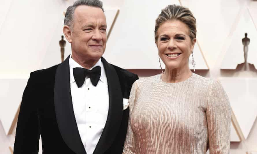 Tom Hanks and his wife Rita Wilson tested positive for Covid-19 while in Australia shooting Baz Luhrmann's Elvis Presley biopic.